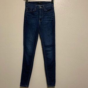 Kancan dark wash skinny denim jeans